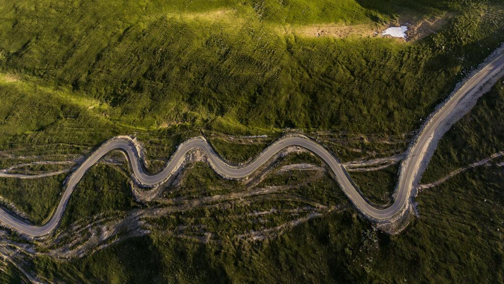 Transalpina Road Gorj County Romania